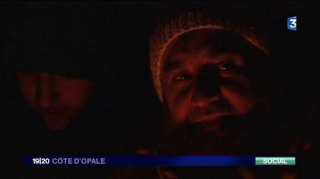 Vidéo - Jungle en hiver, chez les migrants de Loon Plage
