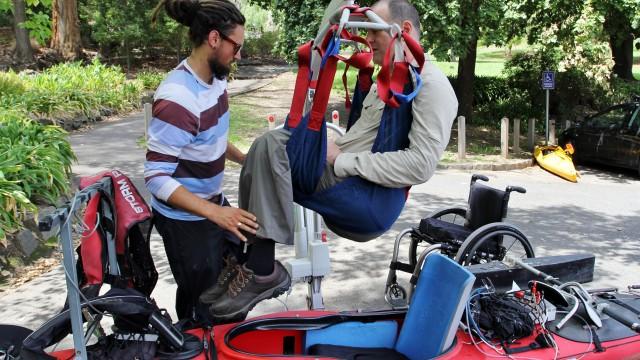 Texte – Dave, quadriplégique mais aventurier avant tout