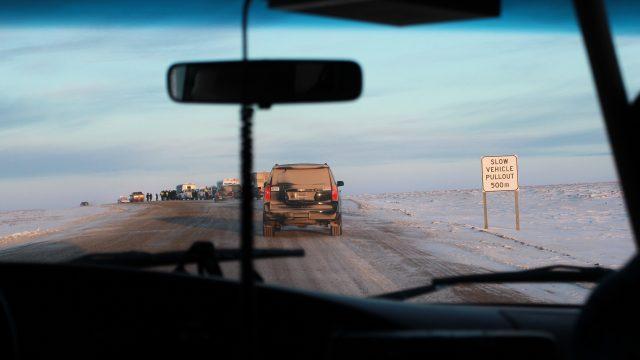 Multimédia - Focus sur la route Inuvik-Tuktoyaktuk pour l'AFP